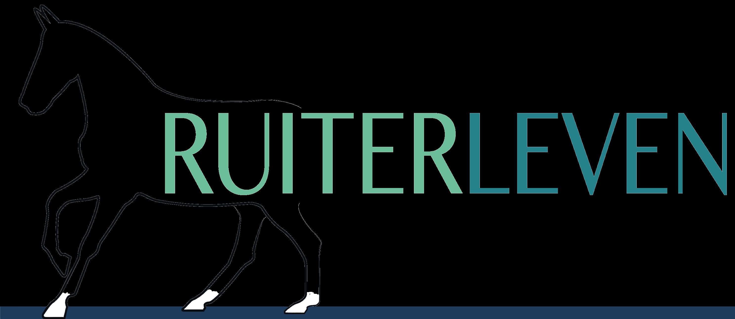 Logo Ruiterleven header nieuwe website