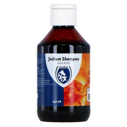 jodium shampoo paard desinfecteren schimmel infecties ontsmetten wondverzorging