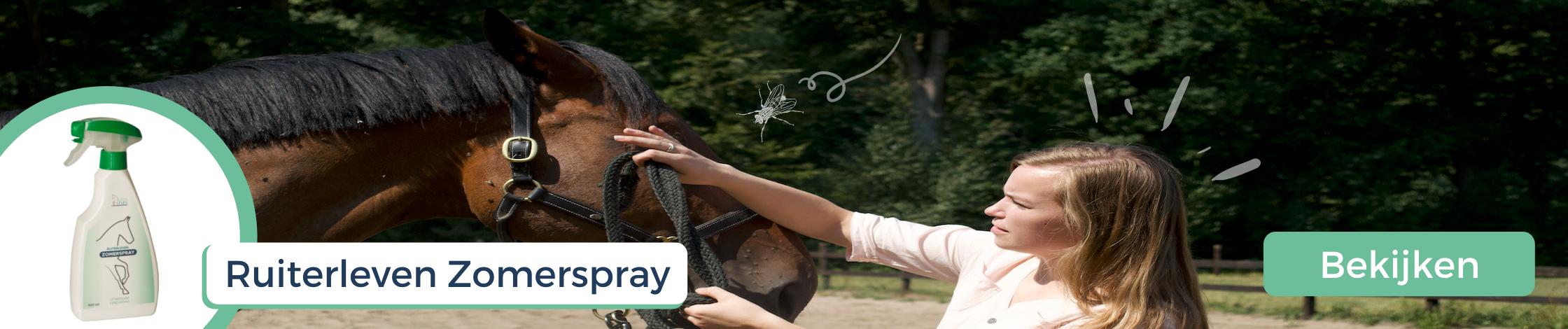 Vliegenspray paard Ruiterleven Zomerspray